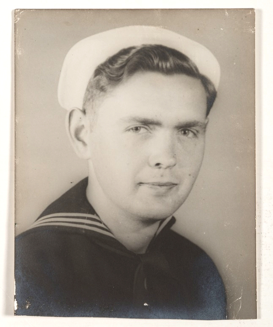 Signalman John Kelly White, who served as a member of the United States Coast Guard onboard USS LCI(L)-86