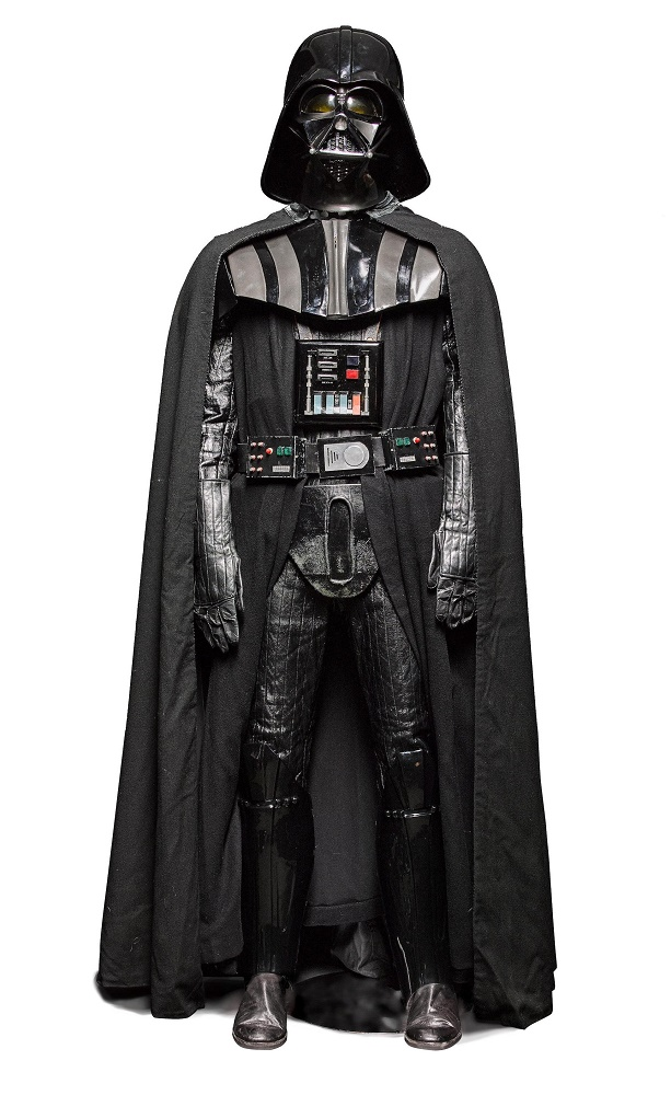 The production-made suit is the only complete Darth Vader costume of its kind ever offered for sale, and comes with an estimate of $1 - $2 million
