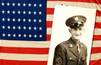 The first US flag flwon at Omaha Beach on D-Day to sell at Heritage Auctions