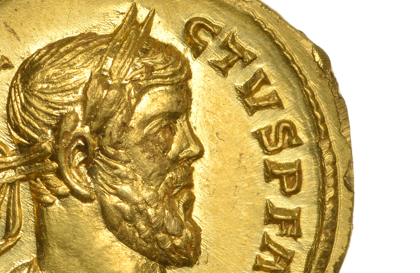 Treasure hunter discovers ancient Roman gold coin worth $130,000