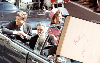 John F. Kennedy's last-known autograph could sell for up to $100,000 at auction next month