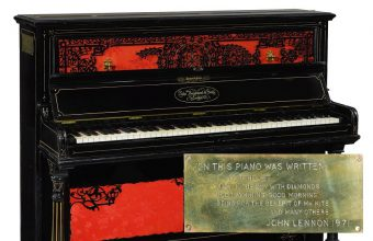 Lennon used the piano to compose some of his most famous songs on Sgt Pepper's Lonely Hearts Club Band