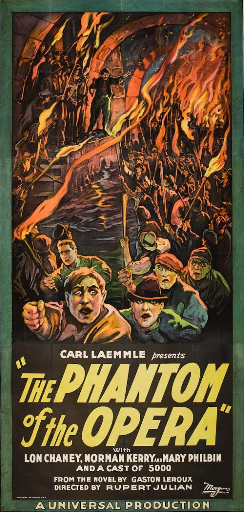 The 1925 three-sheet poster is believed to be the only surviving example of its kind