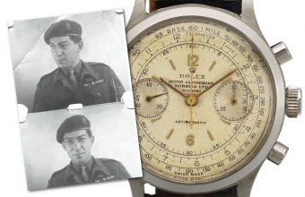 A Rolex watch owned by a WWII POW who helped inspire The Great Escape will sell at Sotheby's on April 16