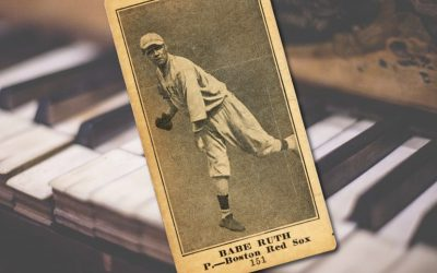 Babe Ruth rookie card discovered inside antique piano sells for $130,000