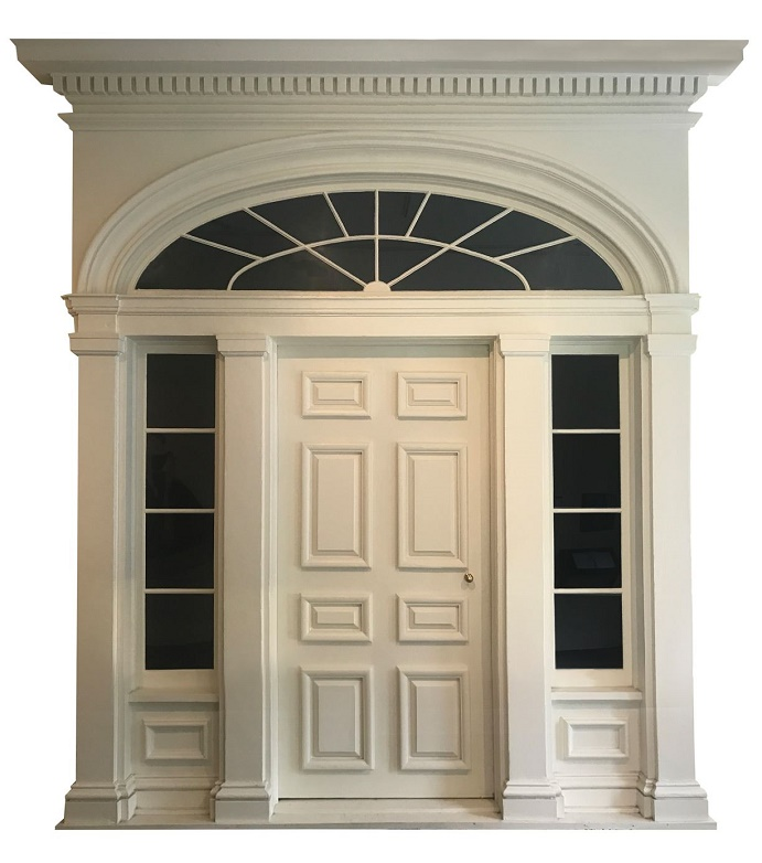 The Tara plantation's original doorway was fully restored in 1989, and is estimated at $40,000 - $60,000
