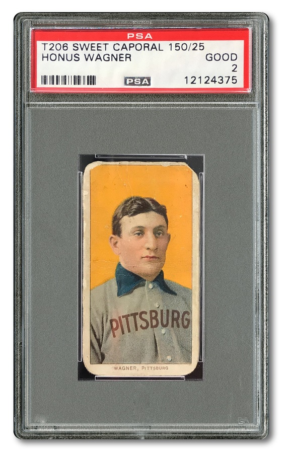 The T206 Honus Wagner card is the most iconic and valuable pre-war baseball card in the world, with less than 60 copies known to exist