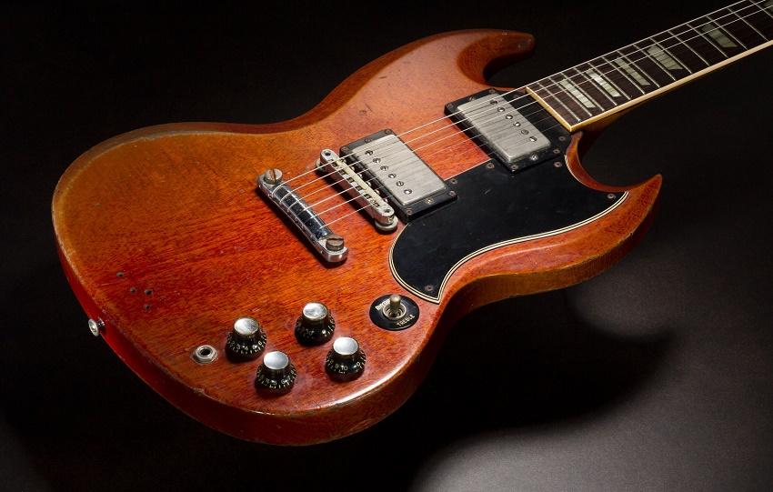 Duane Allman's 1961-61 Cherry Red Gibson SG