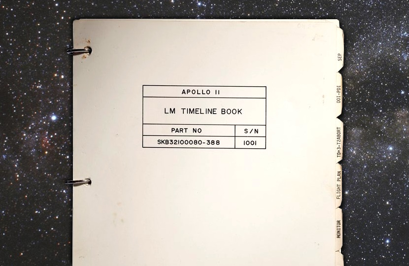 The Apollo 11 Lunar Module Timeline Book