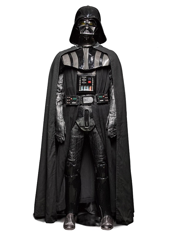 Darth Vader costume from The Empire Strikes Back