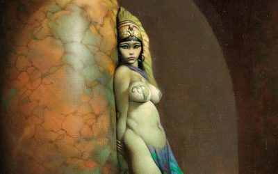 Egyptian Queen (1969) by Frank Frazetta