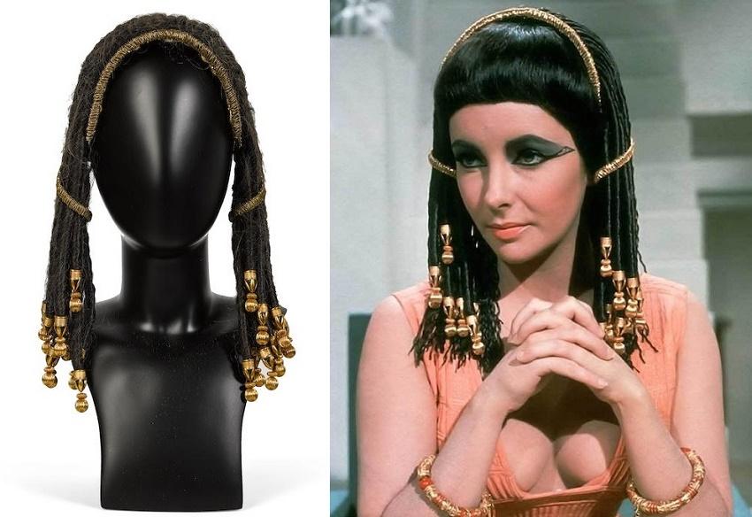 Elizabeth Taylor's wig from Cleopatra