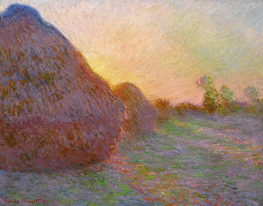 The painting sold at Sotheby's in New York this week for $110,747,000 - setting a new auction record for any Impressionist artwork