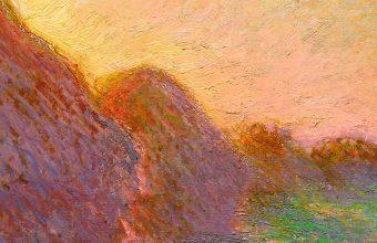 Claude Monet's Haystacks (1890)