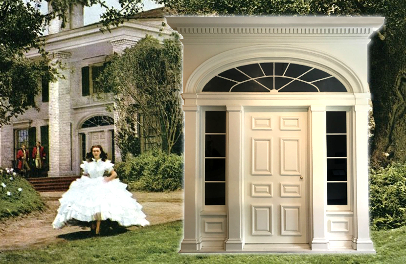 the set of the Tara plantation house from Gone With The Wind is up for auction at Profiles in History