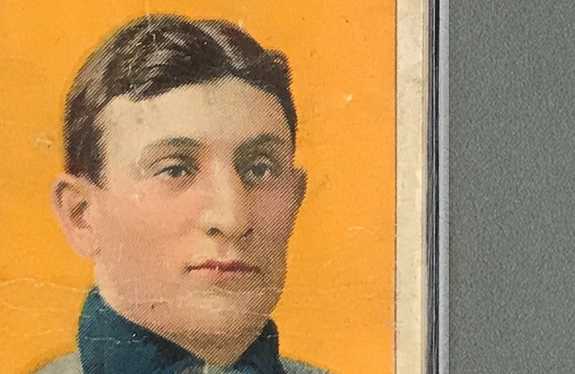 Honus Wagner T206 Baseball Card Sells For 12 Million