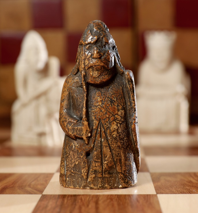 The 'lost' Lewis Chessmen piece, estimated at £600,000 - £1 million