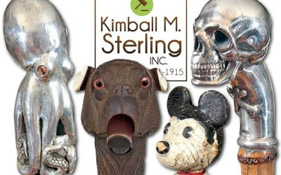 kimball sterling antique cane sale of the week