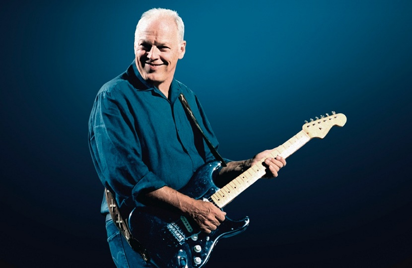 David Gilmour's guitar collection sold for a world record $21.5 million