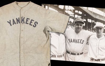 babe ruth jesry sold for world record $5.64 million at auction