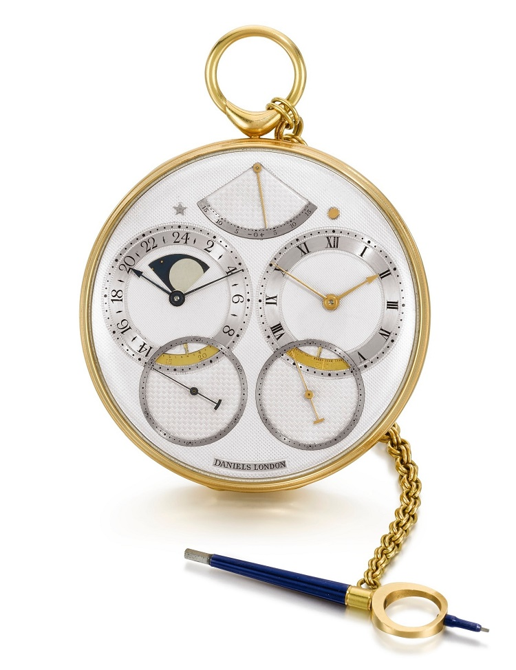 The original Space Traveller I pocketwatch, estimated at $900,000 - $1.2 million