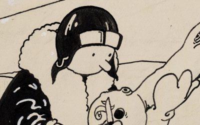 tintin's first cover artwork to sell at Heritage Auctions