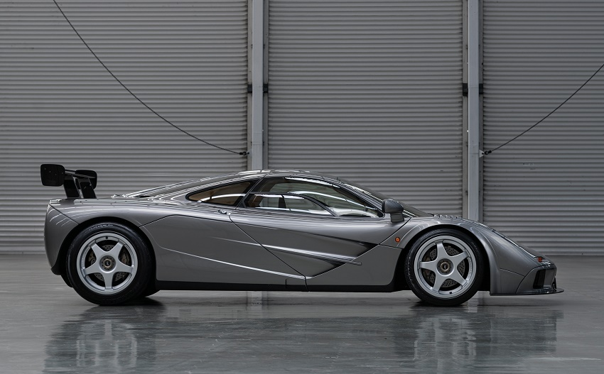 The McLaren F1 LM-Spec, estimated at $21 - $23 million