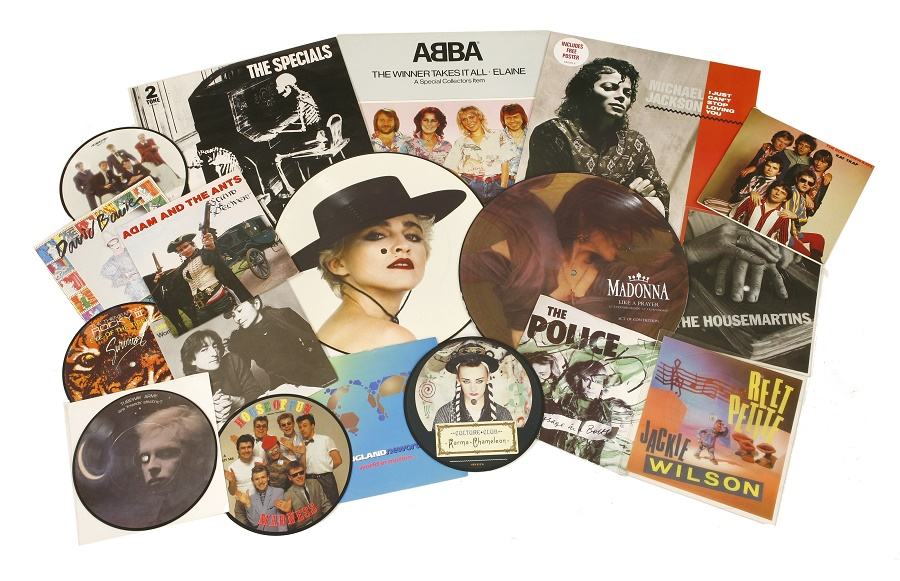 The collection includes #1s by iconic artists such as Madonna, Michael Jackson, ABBA and David Bowie