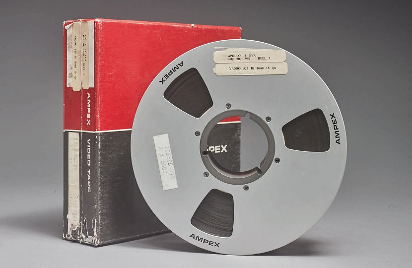 NASA's lost video tapes of the Apollo 11 moon landings sold for $1.8 million at Sotheby's on July 20