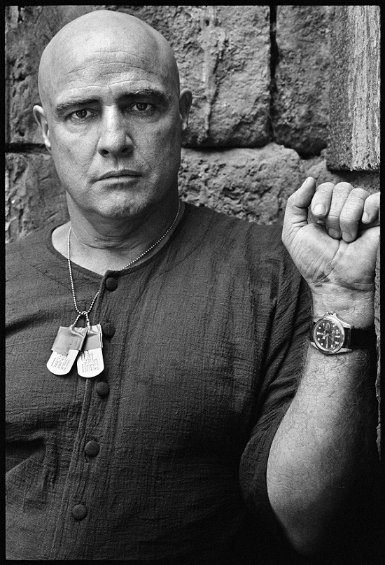 Marlon Brando wore the watch on-screen in his iconic role as Colonel Kurtz in Apocalypse Now (Image Phillips / Mary Ellen Mark)