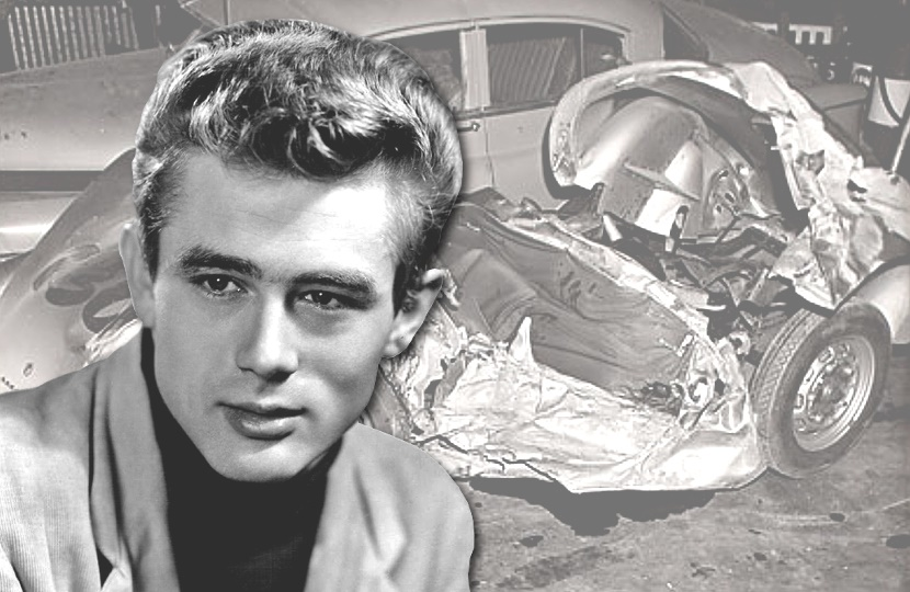 Unseen photographs of the car crash which killed James dean are up for sale at RR Auction on August 15