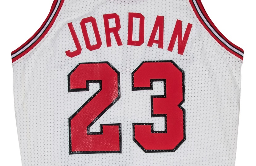 quality design 17a3c e378e Michael Jordan's first Chicago Bulls jersey to sell at ...