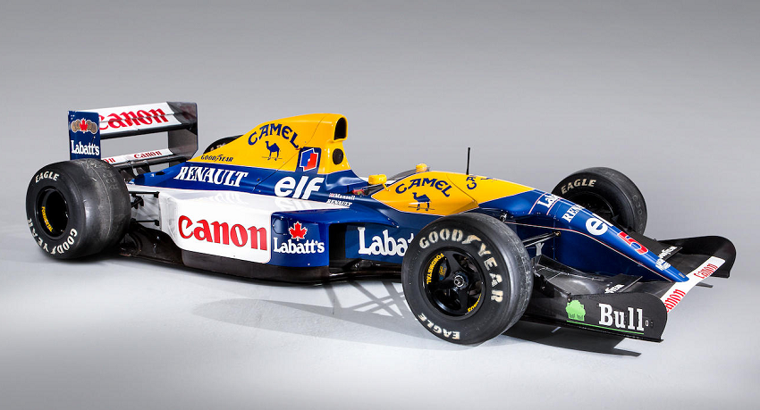 Nigel Mansell's 1992 title-winning car, regarded as the finest Williams F1 car ever built