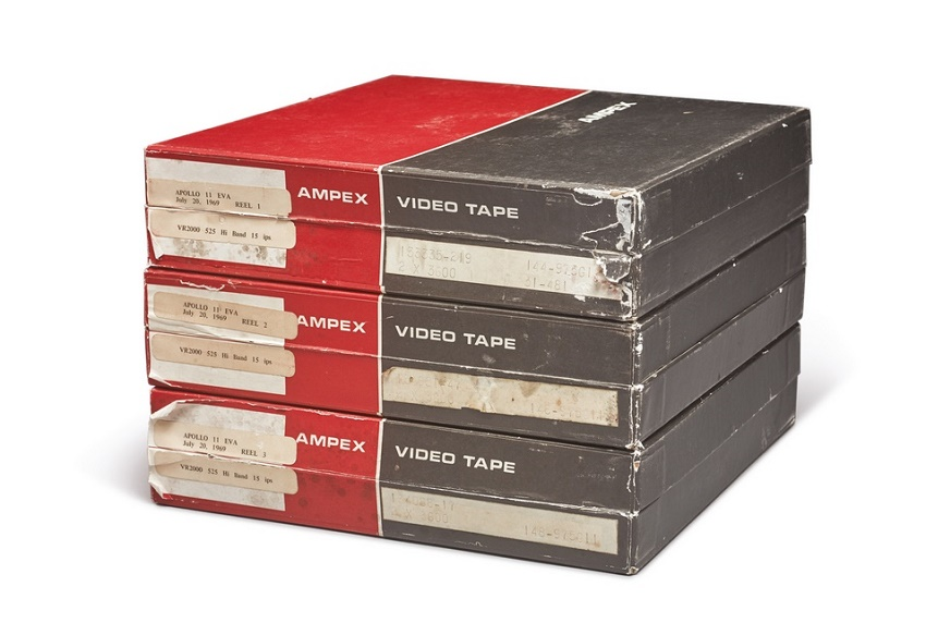 The three tapes were amongst more than 1,000 bought by student Gary George for just $217 during a government surplus auction in 1973
