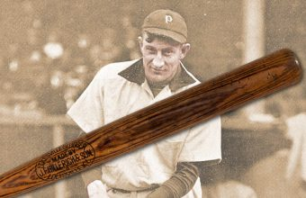 Honus Wagner baseball bat for sale at Heritage Auctions