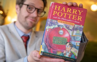 harry potter first edition sells at hansons auctions