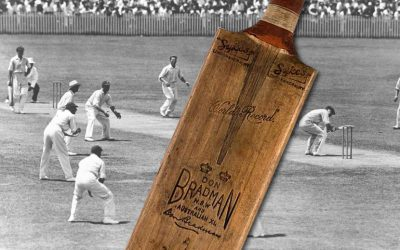 Don Bradman Ashes bodyline series bat up for auction