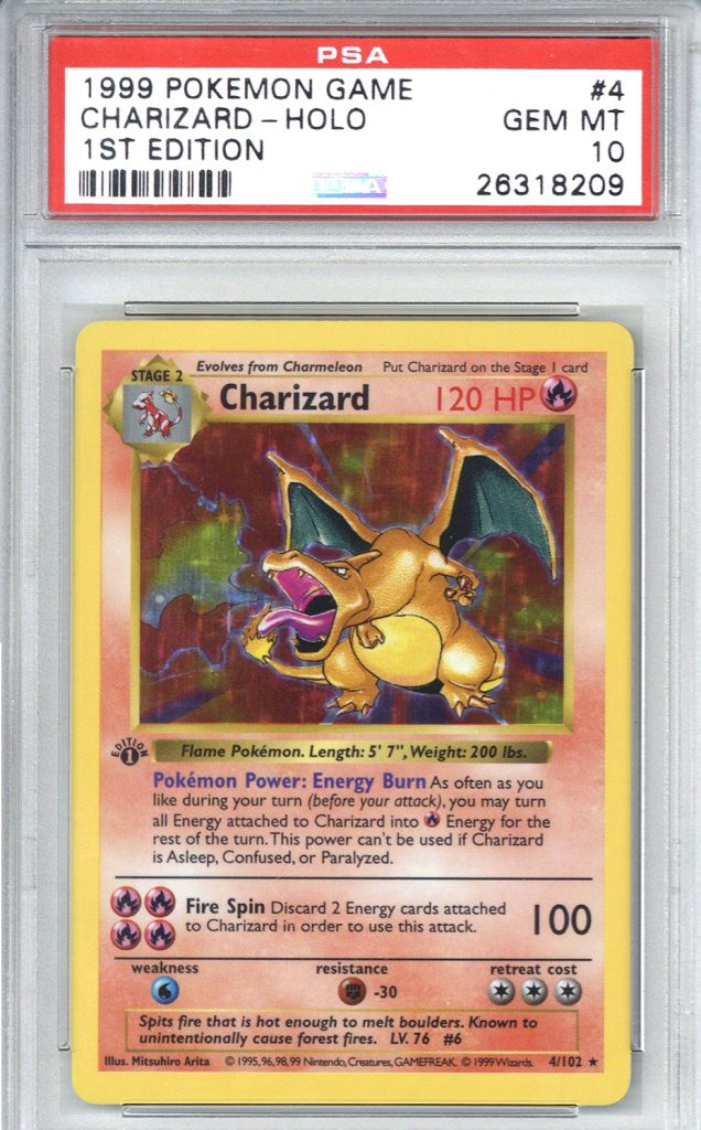 Characters such as Charizard and Pikachu have become cultural icons for a generation of millennial collectors