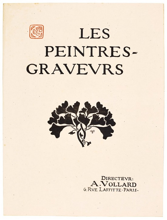 Just 100 copies of 'Les Peintres-Graveurs' were published, and just one example is known to have survived intact