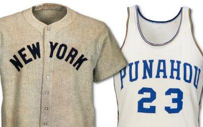 barack obama lou gehrig sports jerseys heritage auctions