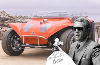 Steve McQueen Thomas Crown Affair dune buggy Bonhams auction