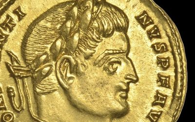 """Perfect"" Roman gold coin found with metal detector after 1,700 years"