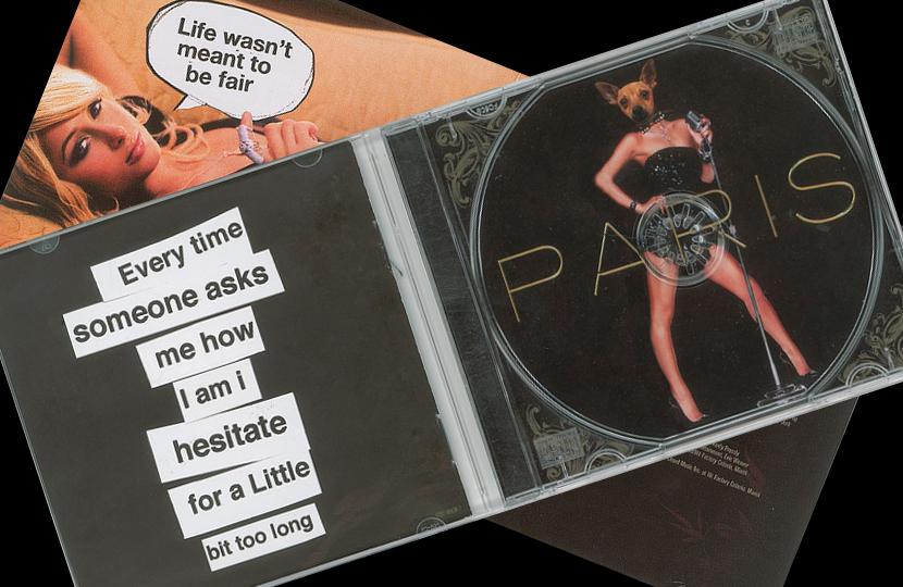 Banksy's legendary fake Paris Hilton CD up for sale at RR Auction
