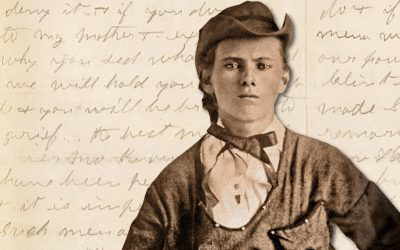 Jesse James handwritten letter to auction at Bonhams