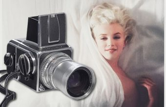 Marilyn Monroe Douglas Kirl=kland photo shoot camera to auction at Christies