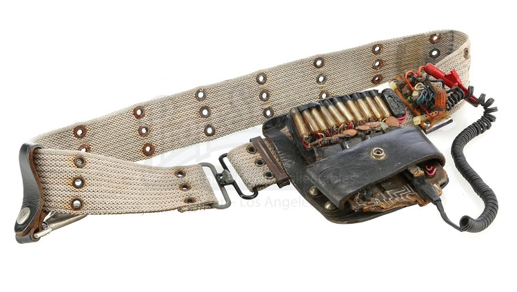 Harold Ramis' Ghostbusters utility belt, which sold for £12,915 (Image: Prop Store)