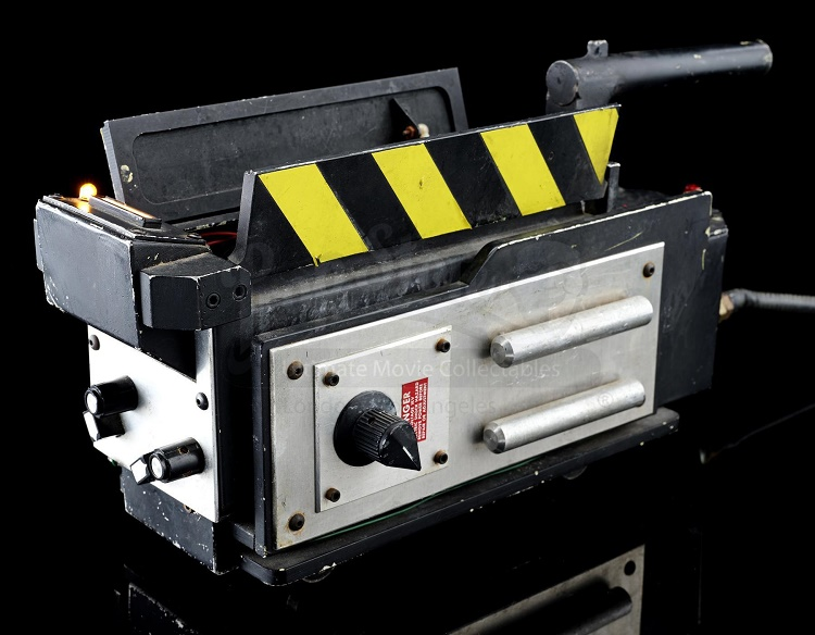 The 'hero' ghost trap used in both Ghostbusters and Ghostbusters II, which sold for £186,960 (Image: Prop Store)