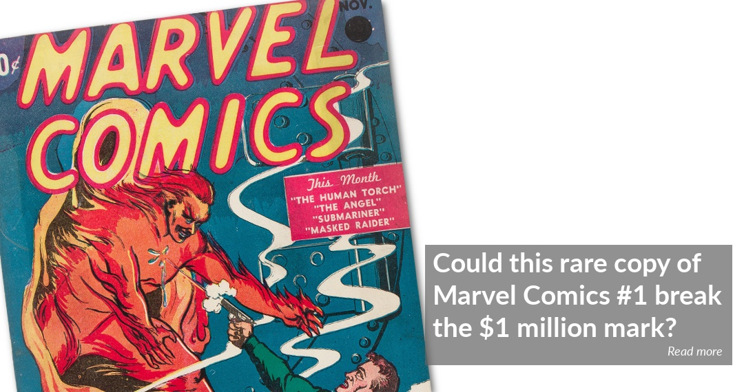 Copy of Marvel Comics #1 could sell for $1 million at Heritage Auctions