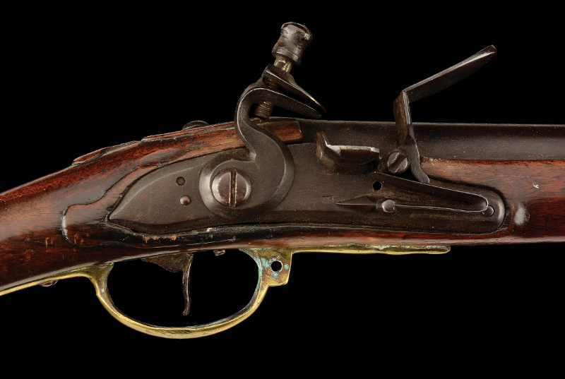 The historic musket has passed down through six generations of John Simpson's family (Image: Morphy Auctions)
