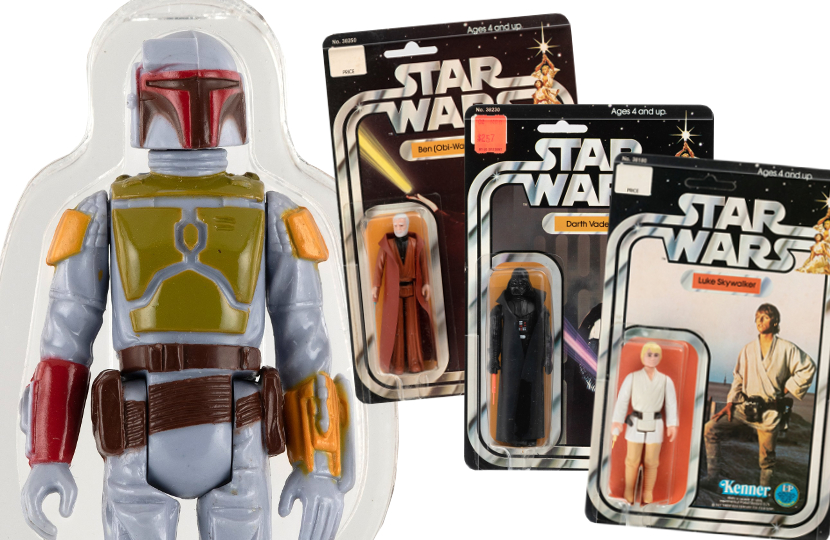 Hakes Auctions to sell a Holy Grail collectuion of Star Wars action figures